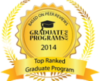 Top Ranked Graduate Program – Health Administration badge