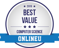 Information Systems:  2015 Best Value Online Computer Science badge