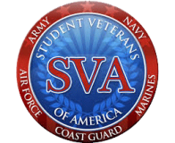 SVA – Student Veterans of America badge