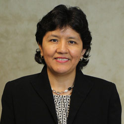 Photo of Faculty, Dr. Indira Guzman