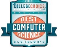2016 Rankings of Best Online Computer Science for Bachelor's Degrees badge
