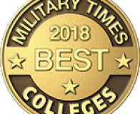 Trident Makes Military Times' Best Colleges List for Third Consecutive Year badge
