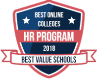 The Best Human Resources Degree Programs 2018 badge