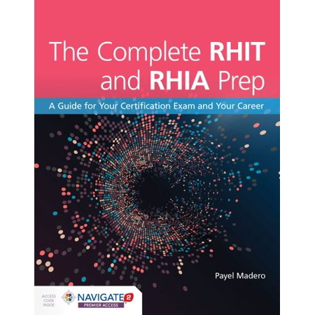 The Complete RHIT and RHIA Prep book cover